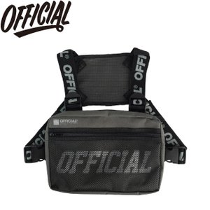 OFFICIAL MELROSE CHEST UTILITY BAG GRAY オフィシャル チェスト ユーティリティ バッグ グレー 19s|stormy-japan