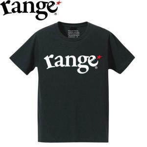 range★ RANGE LOGO S/S TEE(BLACK/WHITE)(レンジ 半袖 Tシャツ ブラックホワイト)17f stormy-japan