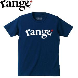 range★ RANGE LOGO S/S TEE(NAVY)(レンジ 半袖 Tシャツ ネイビー)17f stormy-japan