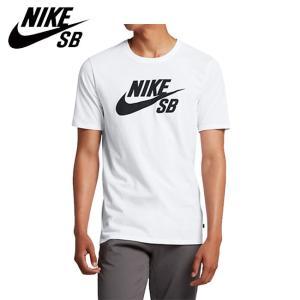 NIKE SB LOGO SS TEE WHITEBLACK ナイキ エスビー 半袖 Tシャツ ホワイトブラック 18f|stormy-japan