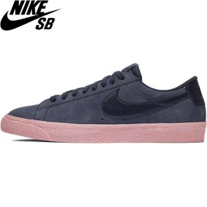 NIKE SB BLAZER ZOOM LOW SKATEBOARD SHOES OBSIDIAN OBSIDIAN BUBBLEGUM ナイキ エスビー ブレーザー ズーム ロー スケートボード スケボー シューズ 18h|stormy-japan