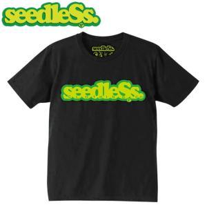 seedleSs COOP REGULAR S/S TEE(BLACK)(シードレス 半袖 Tシャツ ブラック)17su stormy-japan