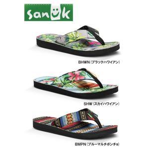 SANUK Roots Cozy (サヌーク ルーツコージー サンダル) stormy-japan