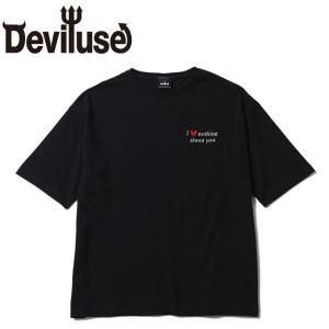 デビルユース DEVILUSE tシャツ Hate Nothing Big SS Tshirts Black 半袖tシャツ ビッグサイス ブラック|stormy-japan