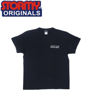 STORMY MINI LOGO SS TSHIRTS BLACKWHITE ストーミーオリジナル 半袖 Tシャツ ブラックホワイト 19s|stormy-japan