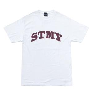 ストーミー STORMY 半袖 tシャツ STMY LOGO SS T-SHIRTS WHITE オリジナル ホワイト 20s|stormy-japan