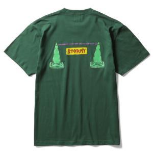 ストーミー STORMY x CARELESS ケアレス tシャツ PYLON S/S T-SHIRTS IvyGreen 半袖Tシャツ アイビーグリーン|stormy-japan