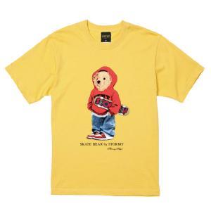 ストーミー STORMY tシャツ BEAR S/S T-SHIRTS BANANA 半袖Tシャツ バナナ|stormy-japan