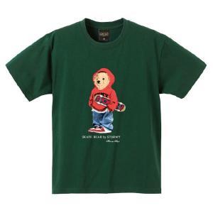 ストーミー STORMY tシャツ BEAR S/S T-SHIRTS VYGREEN 半袖Tシャツ アイビーグリーン|stormy-japan