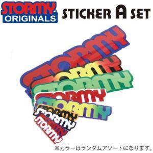 STORMY Original Sticker A set(ストーミー オリジナル ステッカー Aセット)|stormy-japan