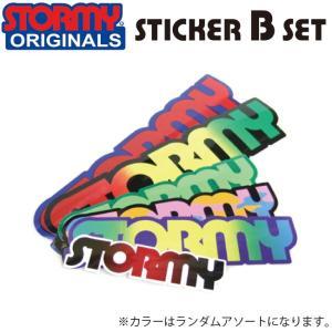 STORMY Original Sticker B set(ストーミー オリジナル ステッカー Bセット)|stormy-japan