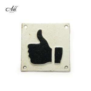 商品名:Goody Grams Add / SIGN PLATE-THUMB  商品説明:鉄でできた...
