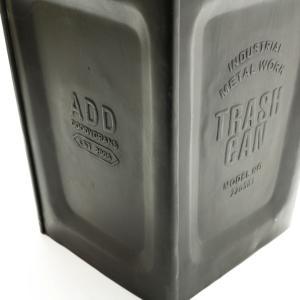 ゴミ箱 ごみ箱 おしゃれ 金属 アメリカン レトロ アンティーク Goody Grams Add METAL TRASH CAN|stoutfitters|02