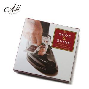 シューシャイン  靴磨き 携帯用 5枚入り 艶出し グッディグラムス Goody Grams Add SHOE & SHINE|stoutfitters