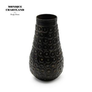一輪挿し 花器 おしゃれ モノトーン 黒 ブラック オブジェ 置物 花瓶 フラワーベース  Goody Grams CHAR|stoutfitters