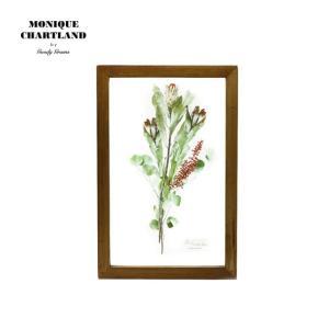 アートフレーム ドライフラワー 額縁 額 アートポスター 木製 おしゃれ Goody Grams GLASS FRAME FLOWER PINK|stoutfitters