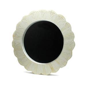 Goody Grams / MIRROR NIRMAL 鏡 ミラー 壁掛け 丸型 円形 アンティーク 木製 おしゃれ 美容室|stoutfitters