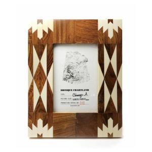 Goody Grams / PHOTO FRAME CHIMAYO A 木製 フォトフレーム 写真立て アンティーク 木製 おしゃれ 壁掛け 葉書 ハガキ 卓上|stoutfitters