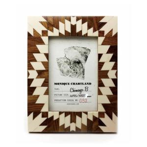 Goody Grams / PHOTO FRAME CHIMAYO B 木製 フォトフレーム 写真立て アンティーク 木製 おしゃれ 壁掛け 葉書 ハガキ 卓上|stoutfitters