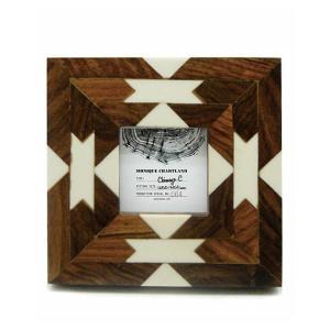 Goody Grams / PHOTO FRAME CHIMAYO C 木製 フォトフレーム 写真立て アンティーク 木製 おしゃれ 壁掛け 葉書 ハガキ 卓上|stoutfitters