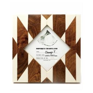 Goody Grams / PHOTO FRAME CHIMAYO F 木製 フォトフレーム 写真立て アンティーク 木製 おしゃれ 壁掛け 葉書 ハガキ 卓上|stoutfitters