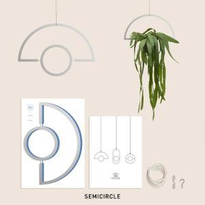 モビール 北欧 キット シンプル エアプランツ シンプル おしゃれ SMALL GOOD THINGS PLANT MOBILE SILVER stoutfitters 03