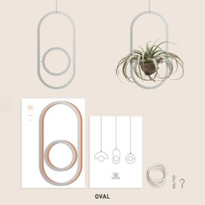 モビール 北欧 キット シンプル エアプランツ シンプル おしゃれ SMALL GOOD THINGS PLANT MOBILE SILVER stoutfitters 04