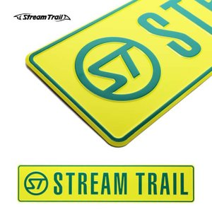 商品名:Stream Trail / ORIGINAL LOGO PLATE  商品説明:Strea...