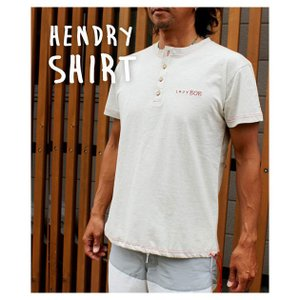 ストリームトレイル レイジーボブ LAZY BOB HENDRY SHIRT ヘンリーネックTシャツ Stream Trail stoutfitters