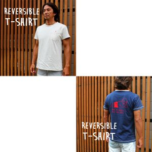 ストリームトレイル レイジーボブ LAZY BOB REVERSIBLE T-SHIRT Tシャツ Stream Trail|stoutfitters