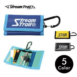 キーケース カード収納 アウトドア ナイロン メンズ レディース キーホルダー カラビナ ストリームトレイル Stream Trail|stoutfitters