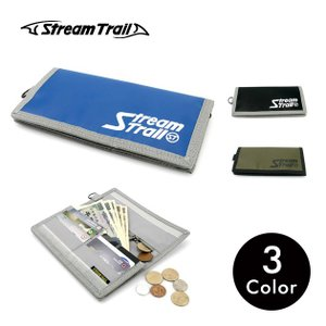 長財布 ロングウォレット アウトドア スポーツ ナイロン 軽量 カード ラウンドファスナー メンズ レディース Stream Trail|stoutfitters