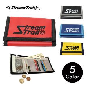 財布 三つ折り アウトドア スポーツ ナイロン 軽量 カード コンパクト メンズ レディース ストリームトレイル Stream Trail|stoutfitters