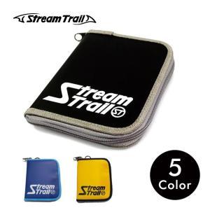 財布 二つ折り アウトドア スポーツ ナイロン 軽量 カード ラウンドファスナー メンズ レディース ストリームトレイル Stream Trail|stoutfitters