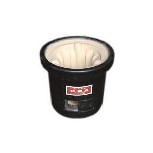 黒七輪と鋳物サナセット|stove