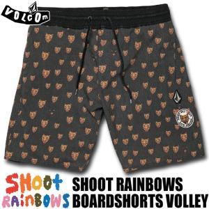 VOLCOM ボルコム ボードショーツ 海パン 水着 Ozzie Volley 17 SHOOT RAINBOWS 品番 A2511903|stradiy