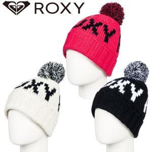 2018-2019年 ROXY(ロキシー) ビーニー ポンポン付き 日本正規品 品番ERJHA03411|stradiy
