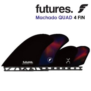 Futures. フューチャーフィン Rob Machado ロブ・マチャド QUAD クアッド 4FIN 4フィン 日本正規品|stradiy