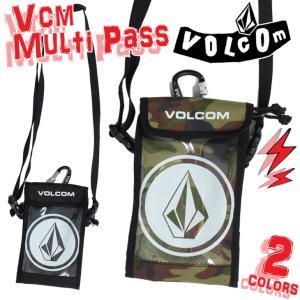 VOLCOM ボルコム マルチパスケース Vcm Multi Pass 2018年 品番 J67519JE 日本正規品|stradiy