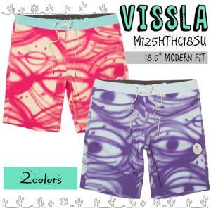 VISSLA ヴィスラ ボードショーツ レングス18.5インチ メンズ トーマス キャンベル 2018年春夏モデル 品番 M125HTHC18SU|stradiy