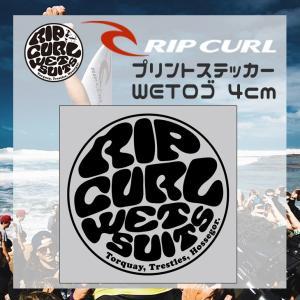 RIPCURL リップカール ステッカー WETロゴステッカー サーフィン シール 品番 C01-0...
