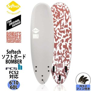 """Softech SOFTBOARDS ソフテック BOMBER ボンバー 6'10"""" ソフトボード ..."""