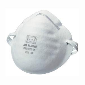 スリーエム(3M) 使い捨て式防じんマスク 簡易タイプ 50枚入 8000J STRAIGHT/03-8000 (3M/スリーエム)|straight-toolcompany