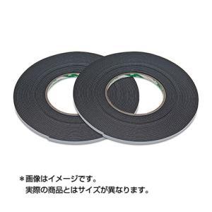 スリーエム(3M) ハイタック両面接着テープ ブラックフォーム 9708 5 AAD (テープ厚0.8mm 幅5mm 長さ10m 2巻入り) STRAIGHT/03-97805 (3M/スリーエム)|straight-toolcompany