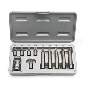 スプラインビットセット 11ピース STRAIGHT/10-3986 (STRAIGHT/ストレート)|整備工具のストレート