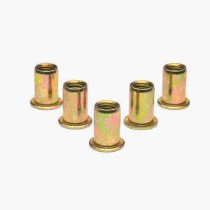 ナットリベット スチール 5ピース M8×1.25 STRAIGHT/12-7553 (STRAIGHT/ストレート)