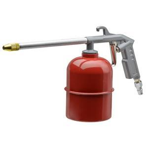 エアーコンプレッサーなどのエアーを利用して洗浄作業に使用するエアー洗浄ガンです。  [タンク容量] ...