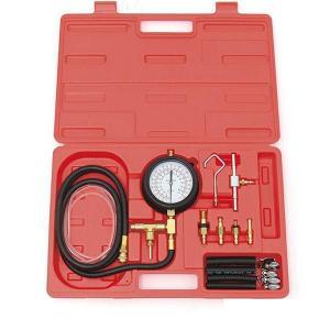 ガソリン車の燃圧測定に使用する燃圧計と接続金具類がセットになった商品です。このセット一つで多くの国産...