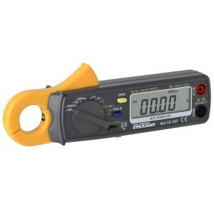 AC/DCデジタルクランプメーターは、直流・交流の電流、電圧測定を始め、抵抗値の測定や導通テストなど...