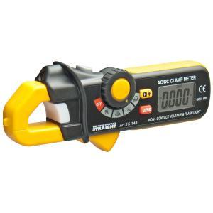 AC/DCデジタルクランプメーターは、暗電流(エンジンOFF時でも流れている微弱な電流)の測定に対応...